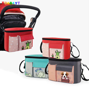 Stroller Bags Cute Carriage Pram Cart Animal Storage Mummy Nappy Bag - Goamiroo Store