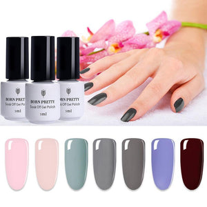Color Series Soak Off Uv Nail Gel Polish Long-Lasting Gel 5Ml 1 Bottle Manicure Nail Art Gel Varnish Tool - Goamiroo Store