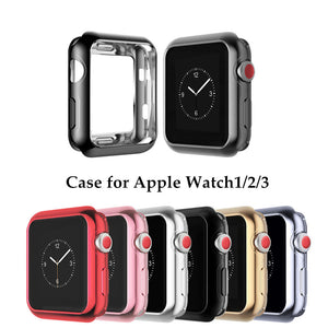 Thormax For Apple Watch Case Soft Tpu Scratch-Resistant Flexible Case Lightweight Protective Cover Iwatch Accessories - Goamiroo Store