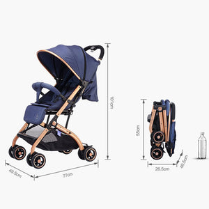 Lightweight Stroller Suit For 0-36 Months Babyzen Yoyo Stroller Yoya Baby Carriage Portable Stroller - Goamiroo Store