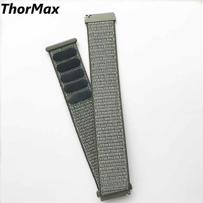 ThorMax Nylon Loop Watchband Buckle Strap for Samsung Gear S3 Classic Frontier Quick Release Watch Band Wrist Bracelet 22mm