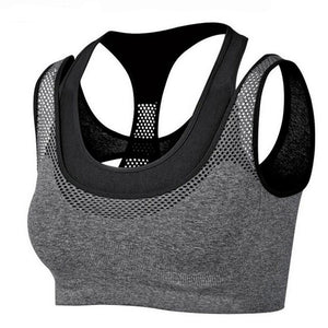 Absorb Sweat Quick Dry Shockproof Sports Bra Fitness Underwear - Goamiroo Store