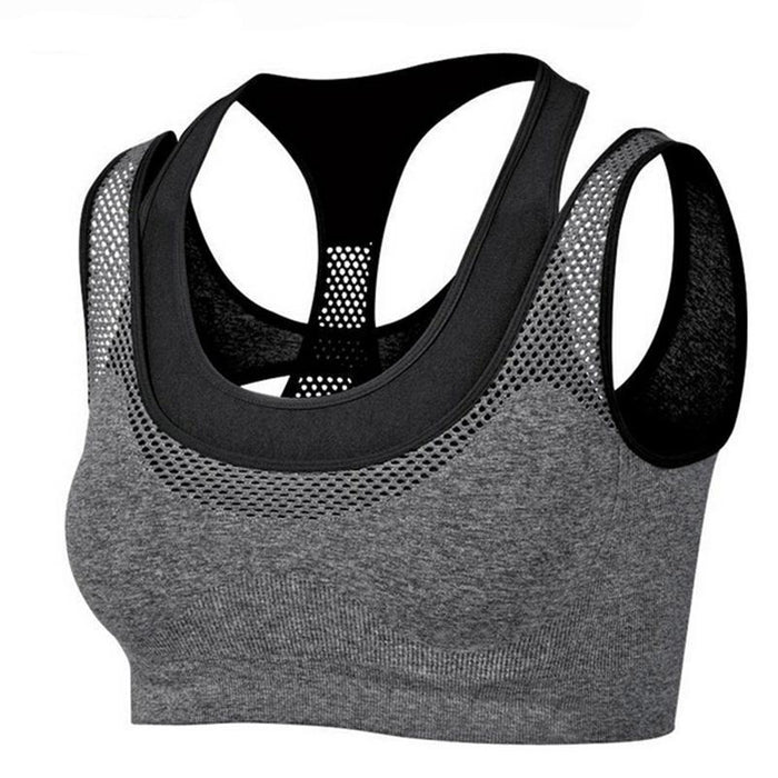 Absorb Sweat Quick Dry Shockproof Sports Bra Fitness Underwear