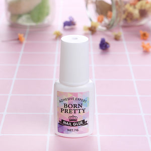 Nail Decoration Adhesive Glue 7G Fast-Dry For Uv/led Rhinestone Manicure No Need Curing Uv Lamp - Goamiroo Store