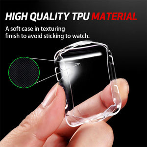 Transparent Soft And Slim Case For Iwatch 38Mm / 42Mm Plastic Soft Cover For Apple Watch Case Protect Cover Thormax - Goamiroo Store