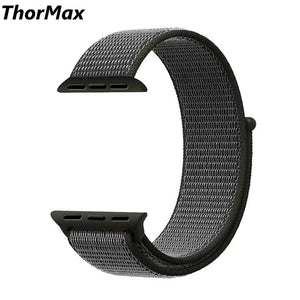 Thormax Sport Nylon For Apple Watch Band 42Mm 38Mm Wove Nylon Watch Strap For Iwatch Series 3/2/1 Wrist Bracelet Watchbandny1003 - Goamiroo