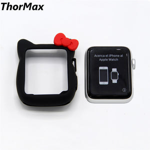 Thormax Watch Screen Protect Case Soft Tpu Material Silicone Cover For Apple Watch Series 2/3 Iwatch 38/42Mm Watch Accessories - Goamiroo