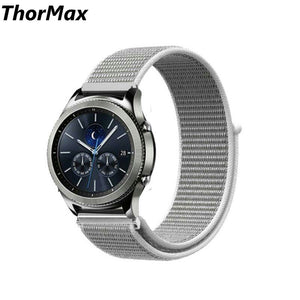 Thormax For Samsung Gear S3 Watch Band 22Mm Nylon Sport Loop Replacement Strap Frontier/classic - Goamiroo Store