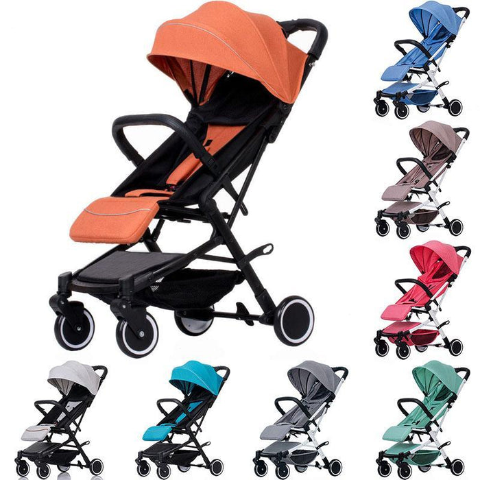 Baby Stroller Trolley Car Wagon Folding Baby Carriage Bebek Arabas Buggy Lightweight Pram