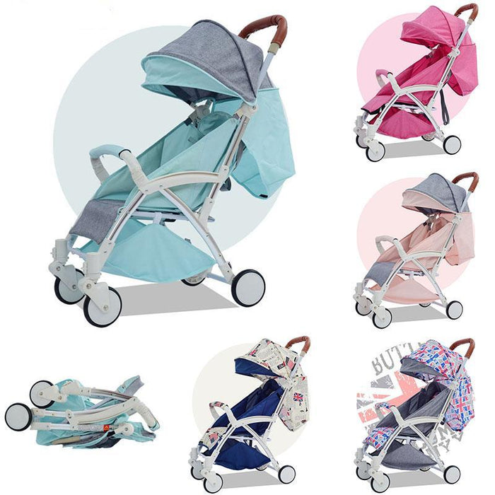 Yoya Baby Strollers Ultra-Lightweight Folding Can Sit Can Lie High Landscape Umbrella Baby Trolley