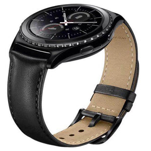 For Samsung Gear S3 Classic/frontier Band 22Mm Genuine Leather Watchband Bracelet Strap Thormax - Goamiroo Store