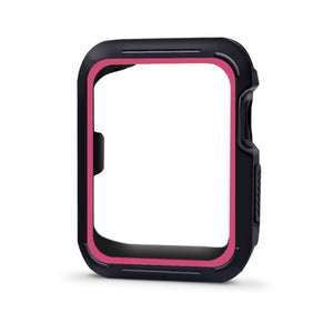 For Apple Watch Series1/2/3 Double-Color Frame Scratch-Resistant Flexible Case Slim Lightweight Protective Cover Iwatch 38/42Mm - Goamiroo