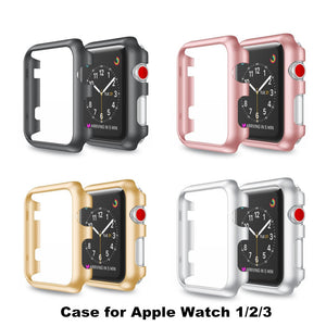 For Apple Watch Frame Colorful Pc Case Cover Protect Shell Series 1/2 Series 3 Iwatch 38 /42Mm Watch Accessories Thormax - Goamiroo Store