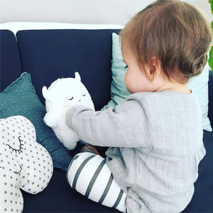 Plush Stuffed Animals Shape Pillow Cushion Cute Angel Rabbit Little Monster Plush Dolls - Goamiroo Store