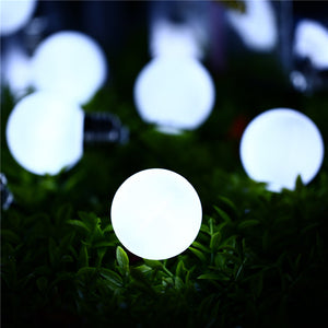Outdoor Solar Powered Led Light String Light 3M 10 G50 Bulb - Goamiroo Store
