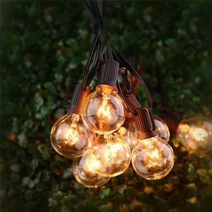 25Ft Globe String Lights with 25 G40 Bulbs-GoAmiroo Store