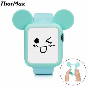 Thormax Watch Protect Case Soft Tpu Silicone Frame Case Cover For Apple Watch Series 1/2 Iwatch 38 /42Mm Watch Accessories - Goamiroo Store