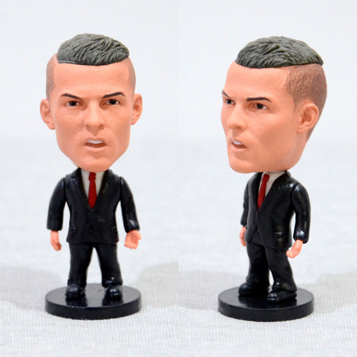 Football Player C.Ronaldo #7 Suit Version 2.5inch Action Figure