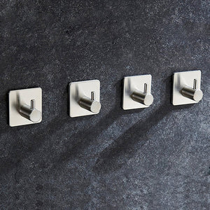 4 Pack of Self Adhesive Hooks-GoAmiroo Store