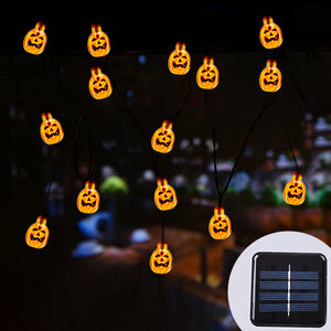 Solar Pumpkin String Lights-GoAmiroo Store