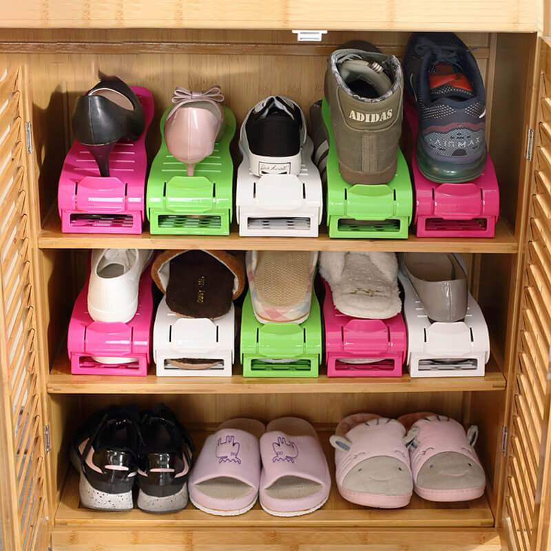 Half Space Save Shoes Organizer - Dudes Gadgets