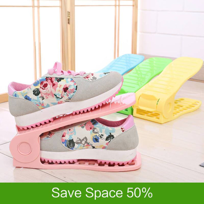Half Space Save Shoes Organizer