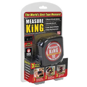 Measure King The Worlds Best Tape Measure Professional 3-In-1 Digital Tape Measure - Goamiroo Store