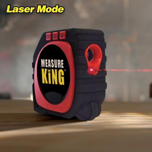 Measure King The World's Best Tape Measure Professional 3-In-1 Digital Tape Measure