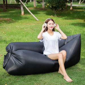 Fast Inflatable Lounger Air Sleep Camping Sofa - Goamiroo Store