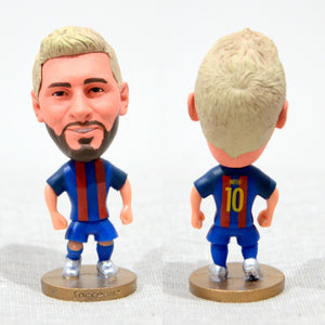 Football Player Messi #10 Barca 2.5Inch Action Figure - Goamiroo Store