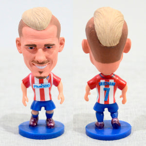 Football Player Griezmann #7 Atlético Madrid 2.5Inch Action Figure - Goamiroo Store