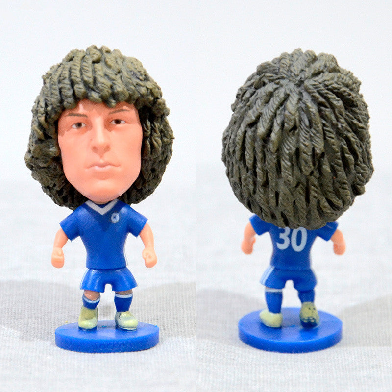 Football Player David Luiz #30 Che 2.5inch Action Figure-GoAmiroo Store