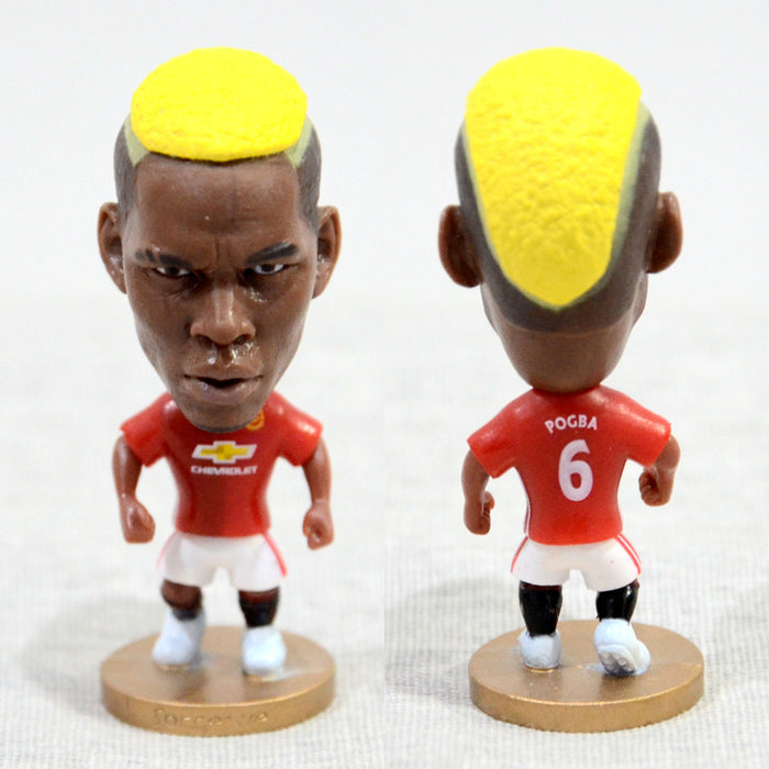 Football Player POGBA #6 Manchester 2.5inch Action Figure