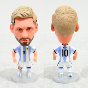 Football Player Messi #10 Argentina 2.5Inch Action Figure - Goamiroo Store