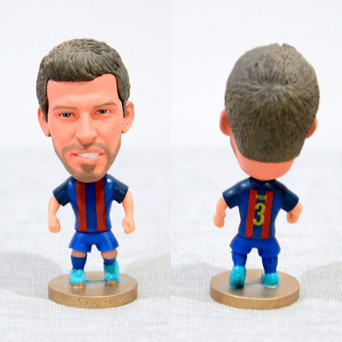 Football Player PIQUE #3 Barsa 2.5inch Action Figure