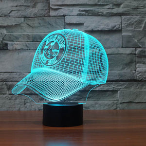 Hat Shape 3D Led Lamp - Goamiroo Store
