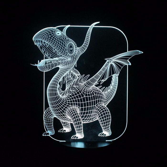 Magical Pterosaurs 3D LED Lamp