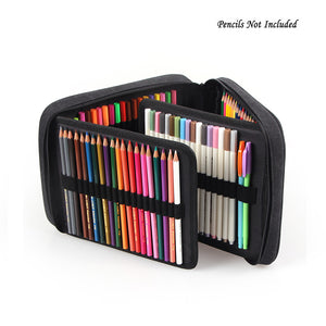 120 Holder Portable Large Capacity Colored Pencil Bag-GoAmiroo Store