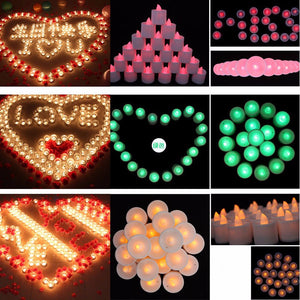 10Pcs LED Flameless Candles-GoAmiroo Store