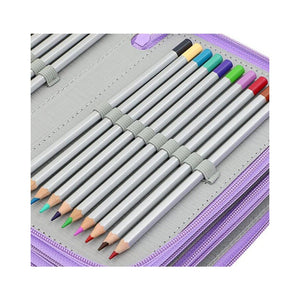 72 Holders 4 Layer Wareable Oxford Colored Pencil Bags-GoAmiroo Store