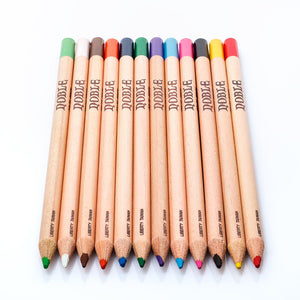 12 Colors Fine Iron Boxed Art colored pencils-GoAmiroo Store