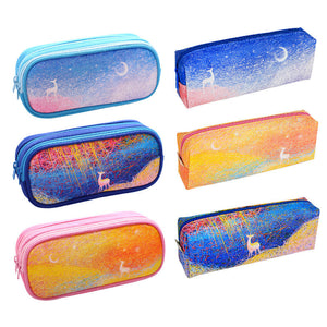 High Quality Kawaii Art Milu Deer School Pencil Case - Goamiroo Store