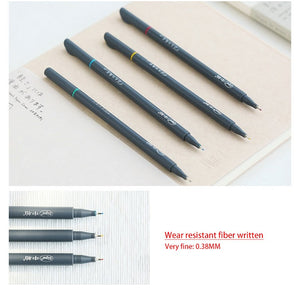 10 Colors/Set 0.38MM Fine Liner Colored Marker Pens-GoAmiroo Store