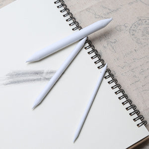 3/6Pcs Set Rubber Double Head Dedicated Sketch Paper Pen Pastel Charcoal White Pen-GoAmiroo Store