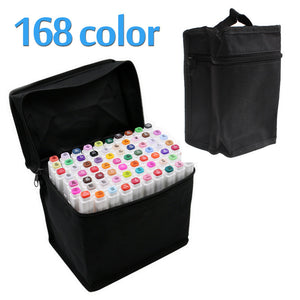 Touchfive 168Colors Art Marker Set Oily Alcoholic Dual Headed - Goamiroo Store