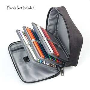 72 Slots Detachable Oxford Canvas School Pencils Case-GoAmiroo Store