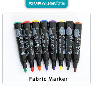 6/8 colors Fabric and T-shirt Textile Mark diy Pen-GoAmiroo Store