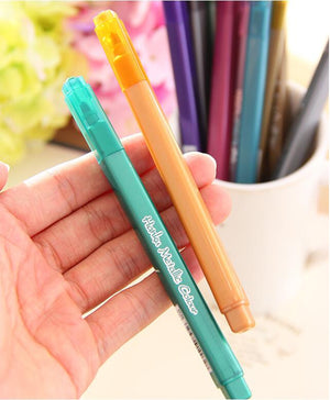 12 pcs/Lot Metallic Color Drawing Art Marker Pen-GoAmiroo Store