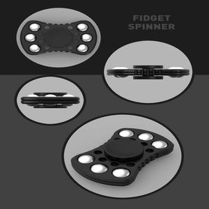 6 Color Touch good Plastic EDC Fidget Spinner-GoAmiroo Store