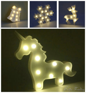 9 Styles Marquee LED Night light-GoAmiroo Store